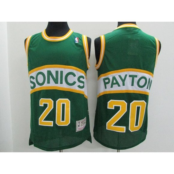Other - Seattle Sonics Gary Payton Green Jersey